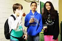 Studenti pěti zemí v nymburském pivovaru