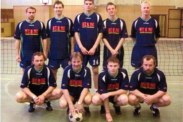Nohejbalisté Spartaku Čelákovice, účastník první ligy.