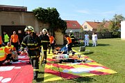Při společném cvičení složek IZS došlo k simulovanému výbuchu v nymburské nemocnici.
