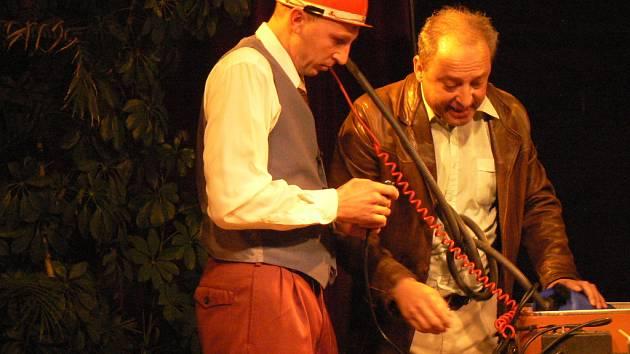 Nymburští herci sehráli dvě Havlovy jednoaktovky