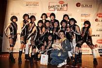 Úspěšné družstvo tanečnic Easy dance.