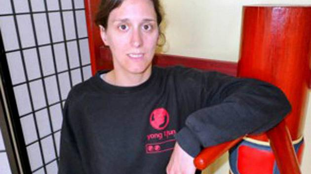 Ivana Kumpoštová, lektorka bojových umění.