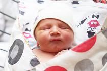 ALEX RÁC se narodil 1. února v 9.08 hodin s výškou 51 cm a váhou 3930 g. Doma v Nymburce se z něj radují rodiče Kristýna  a Pavel a starší bráška Matyáš (5 let).
