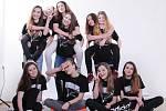 Deset finalistek soutěže Miss Polabí 2017