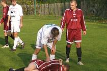 Ze zápasu I.A třídy Trnavan Rožďalovice - Čejetice (0:1)