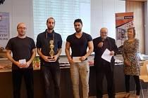 ŠACHOVÍ VELMISTŘI si dali dostaveníčko v Nymburce, kde se konal třetí ročník turnaje v rapid šachu.