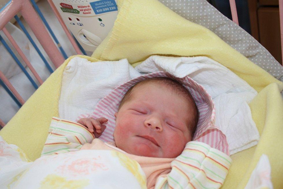 MARIE ČECHOVÁ přišla na svět 12. února 2017 v 22.52 hodin s mírami 3 570 g a 49 cm. Radují se z ní rodiče Kateřina a Dušan a  sestřička Emička (3).