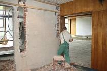 Rekonstrukce sálů v Obecním domě z první poloviny září