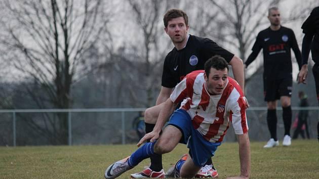 Z fotbalového utkání I.B třídy Liblice - Libice nad Cidlinou (0:2)