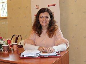 Hejtmanka Jaroslava Pokorná Jermanová.