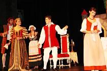 Princezna na hrášku v nymburském Hálkově divadle