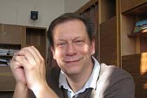 Jiří Kuhn, ředitel nymburského gymnázia.