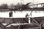 Zimní stadion Poděbrady.