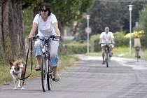 Na Nymbursku přibývají cyklostezky