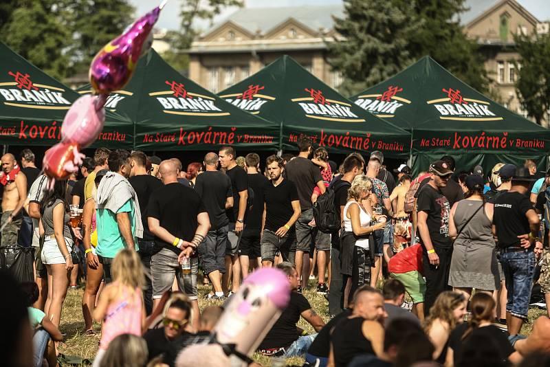 Z festivalu Barvy léta 2021 v sobotu 17. července.