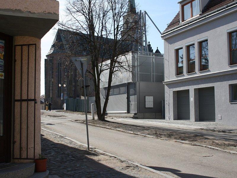 Směr Mohyla v ulici Na Příkopě