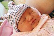 KARINA HALUZOVÁ se narodila 29. ledna 2018 ve 14.29 hodin s výškou 50 cm a váhou 3950 g. Radují se z něj rodiče Denisa a Petr a bráška Kamil, kterému je dva a půl roku. Rodina je doma v Třebestovicích.
