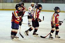 Poděbradský hokejový potěr změřil síly také s pražskou Spartou