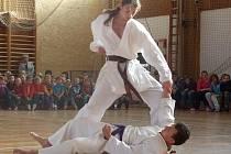 Borci Dó Sokol Nymburk předvedli ukázky karate