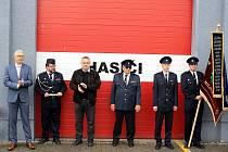 Slavnostní vzpomínkový akt u příležitosti výročí založení hasičského sboru se konal v Milovicích.