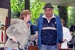 Hrabalovo Kersko na zahradě Lesního ateliéru Kuba