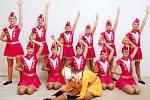Šesté místo obsadily nymburské mažoretky na mistrovství Evropy v Chorvatsku