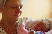 BEATRICE RUSOVÁ se narodila 14. ledna 2018 v 17.32 hodin s výškou 48 cm a váhou 2790 g. Radují se z ní rodiče Michaela a Viktor a bratři Marek (15 let) a Petr (19 let) z Rašovic.