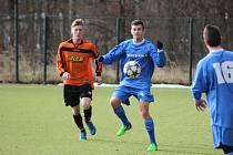 Z fotbalového utkání kolínského turnaje Polaban Nymburk - Kolín U19  (3:1)
