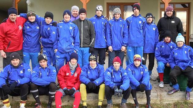 Fotbaloví dorostenci Slovanu Lysá na soustředění