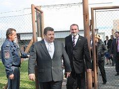 Členové Ústavně-právního výboru Senátu zavítali do jiřické věznice.