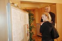 Krajská hospodářská komora uspořádala v Čelákovicích ve spolupráci s úřadem práce Burzu práce.