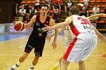 Z basketbalového utkání play off Kooperativa NBL Nymburk - Brno (99:74)