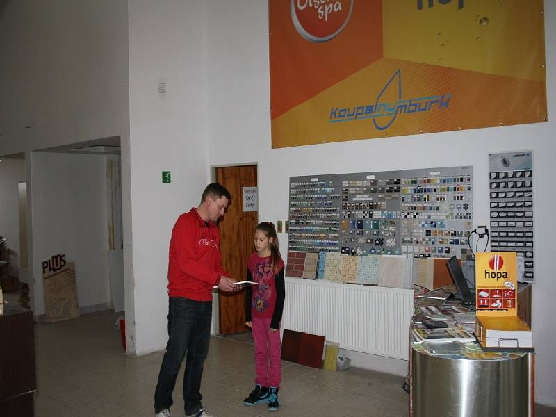 Prodejna Koupelny Nymburk v Jankovicích