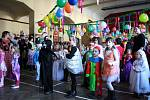 Dětský maškarní ples v Sadské