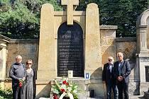 Z pietního aktu konaného 24. července v Hořicích.