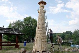 V Osečku vyrostl nový maják u přívozu