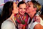 Mistryně Evropy. Desetiletá Aneta Bedrnová z Poděbrad vybojovalo zlato na evropském šampionátu