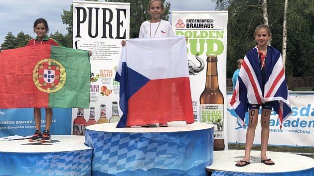 ŠAMPIONKA. Barbora Míková je čerstvou mistryní Evropy.