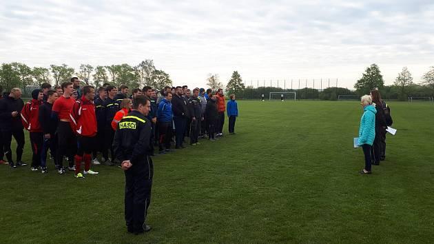 Hasičská liga na Nymbursku odstartovala ve Slovči.