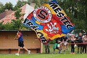 Vyvrcholením oslav 95 let fotbalu v Městci Králové bylo utkání se starou gardou Sparty.
