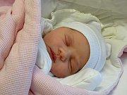 KRISTINA MACKOVÁ se narodila 11. ledna 2018 ve 13.52 hodin s výškou 51 cm a váhou 3 330 g. Bydlí v Poděbradech s rodiči Rastislavem a Martinou a sestřičkou Sárou (6).
