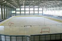 Nový zimní stadion v Poděbradech uvnitř