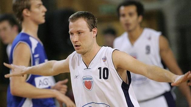 Z basketbalového utkání Mattoni NBL Poděbrady - USK Praha (71:78)