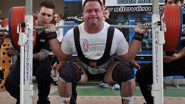 Zbyněk Krejča se stal mistrem Čech v kategorii do 120 kg a zároveň nejlepším závodníkem mistrovství Čech v silovém trojboji