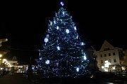1. místo  - Vánoční strom v Poděbradech