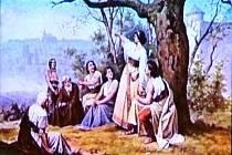 Dobové vyobrazení Libušina proroctví