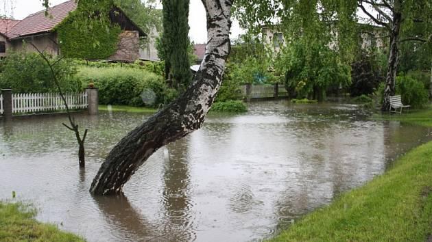 Povodně v Polabci