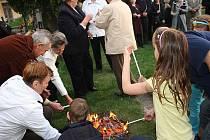 V sobotu se v Hrubém Jeseníku konala Velikonoční bohoslužba.