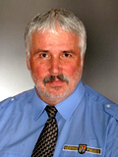 Miloš Dlabal, velitel Městské policie Poděbrady.