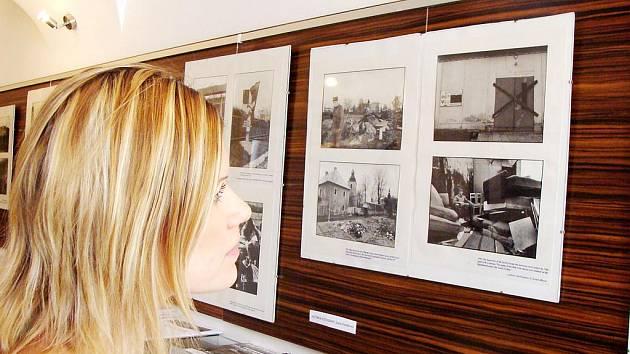 Výstava Odchod sovětských vojsk v TIC Poděbrady.
